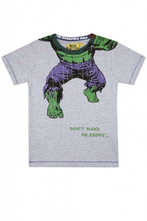 KIDS HEADLESS HULK T-SHIRT GREY