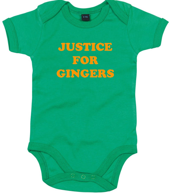 Justice For Gingers Babygrow