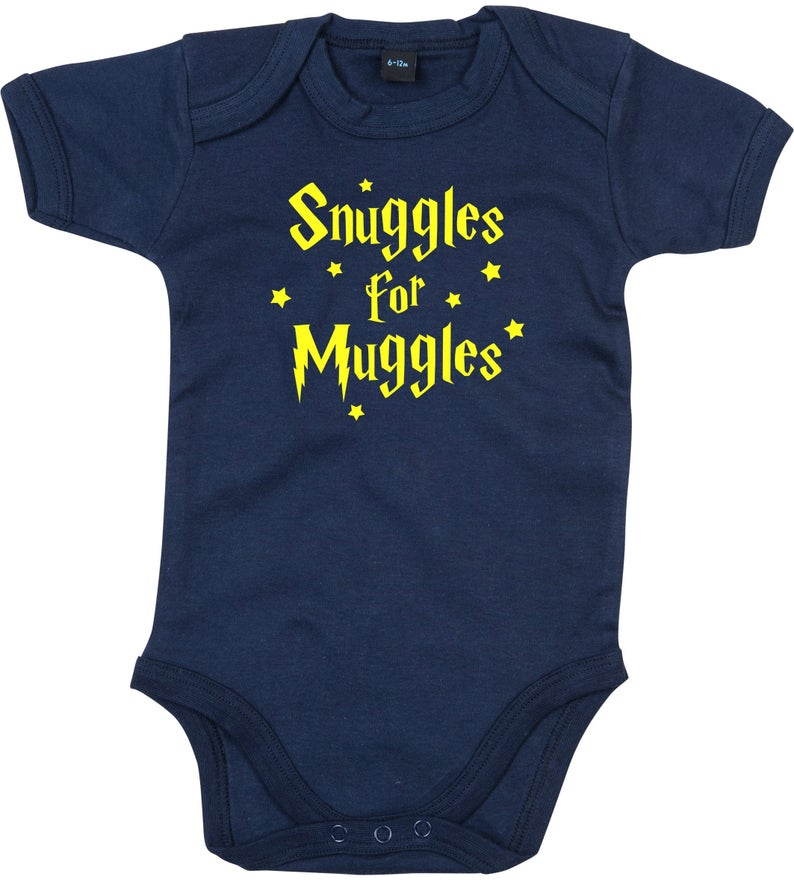 Snuggle For Muggles Babygrow