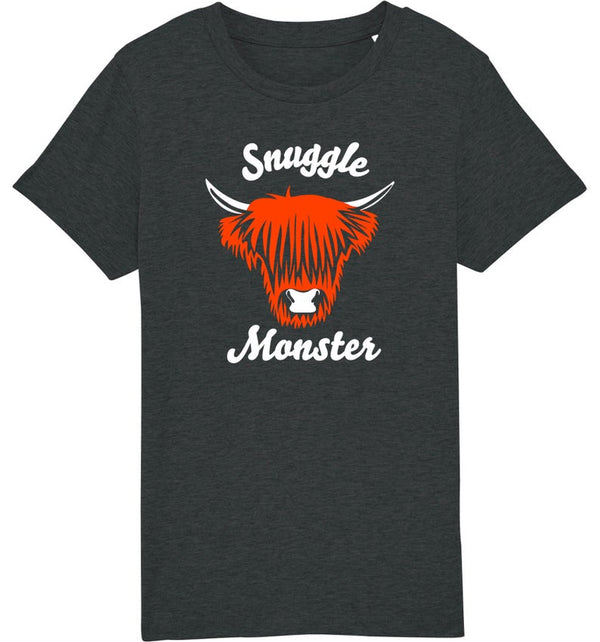 Youth Snuggle Monster Organic T-Shirt