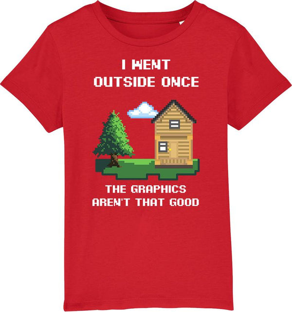Youth Outside Once Organic T-Shirt
