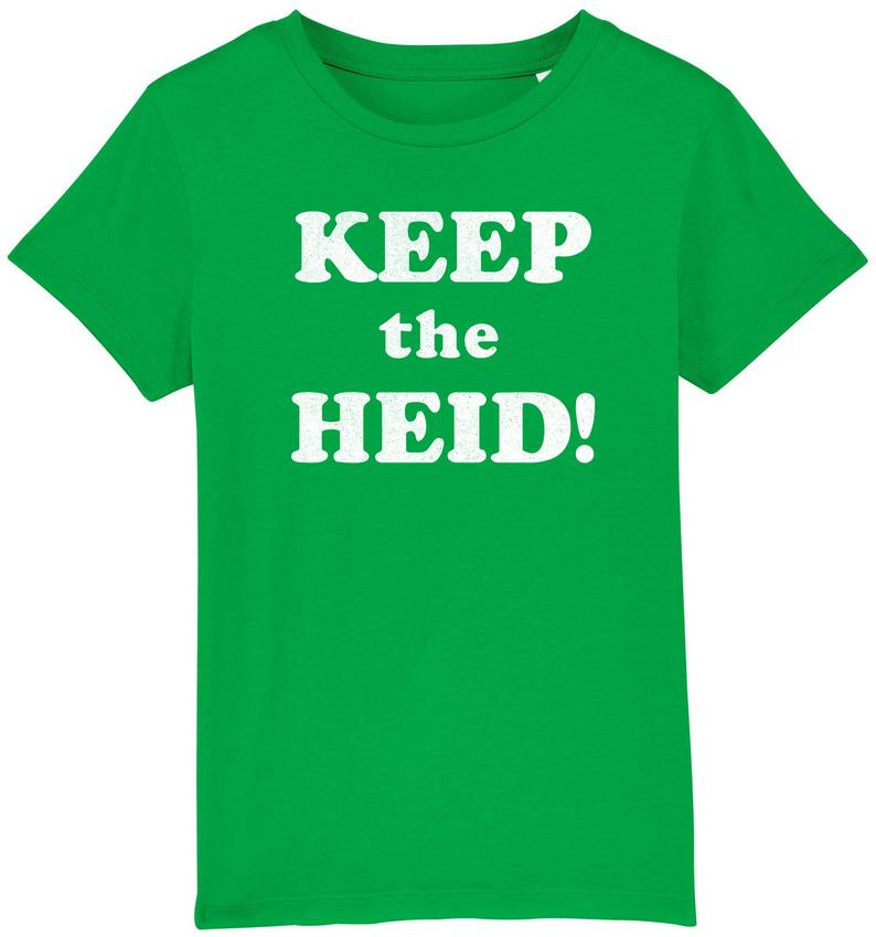 Youth Keep The Heid Organic T-Shirt