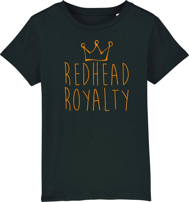 Youth Redhead Royalty Organic T-Shirt