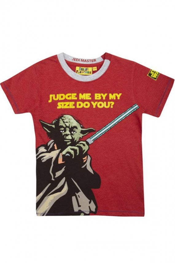 KIDS YODA JUDGE ME TEE
