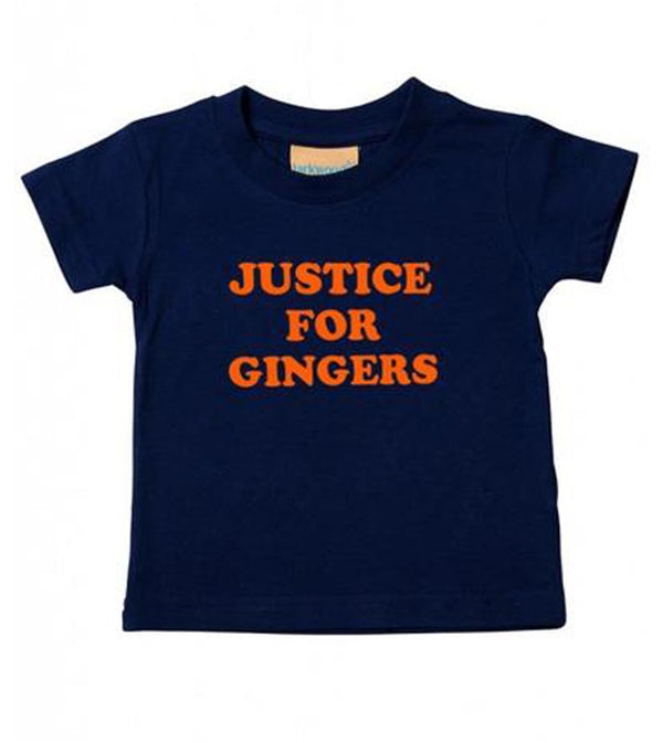 Kids Justice For Gingers T-Shirt
