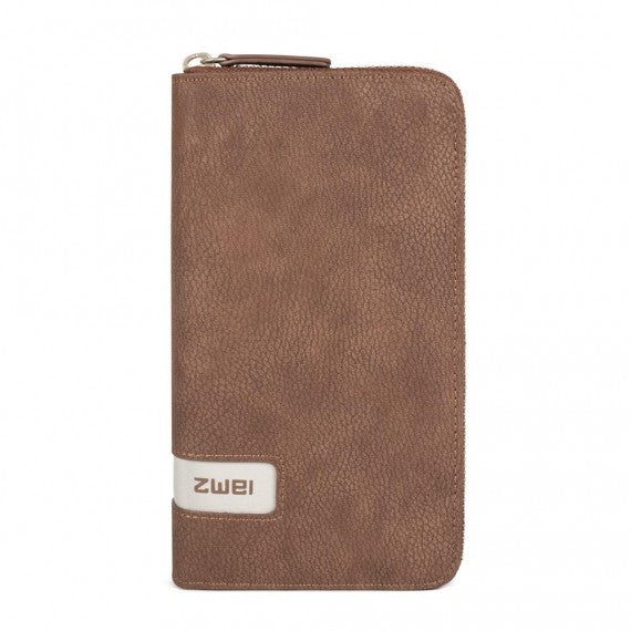 WALLET NUBUCK BROWN