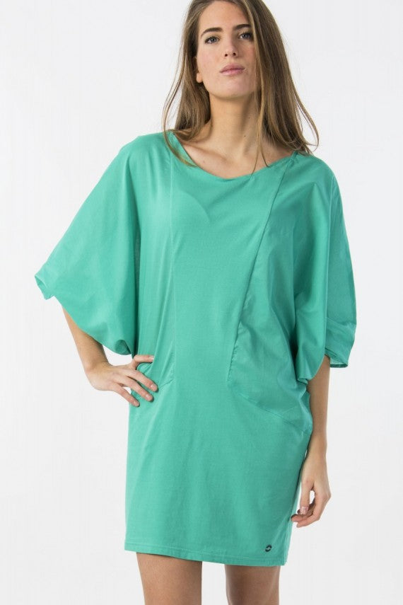 GARAI BATWING DRESS GREEN