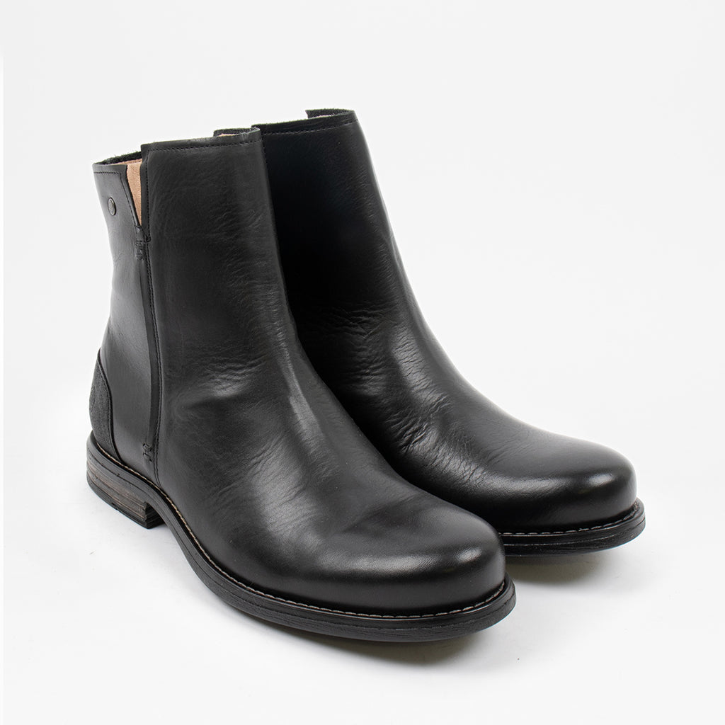 Shady Leather Boot