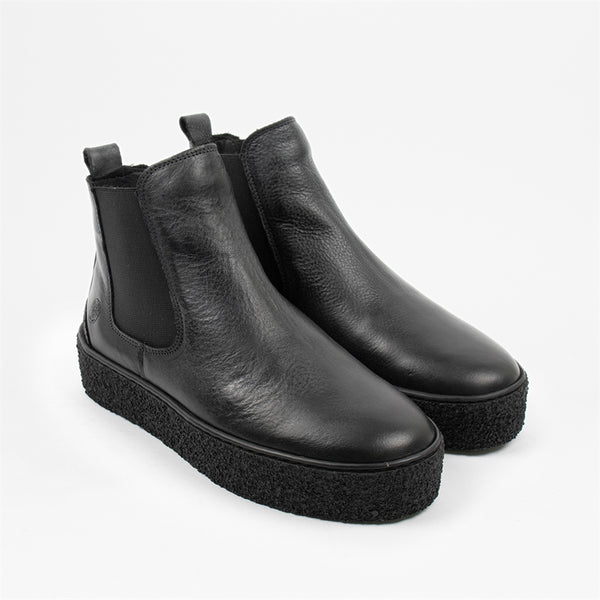 Shallow Womens Leather Boot