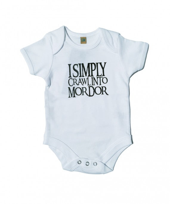 BABY SIMPLY CRAWL BABYGROW WHITE