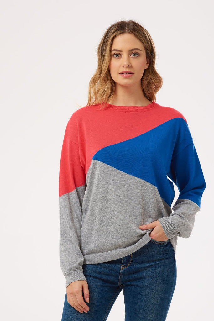Sinead Colour Block Sweater