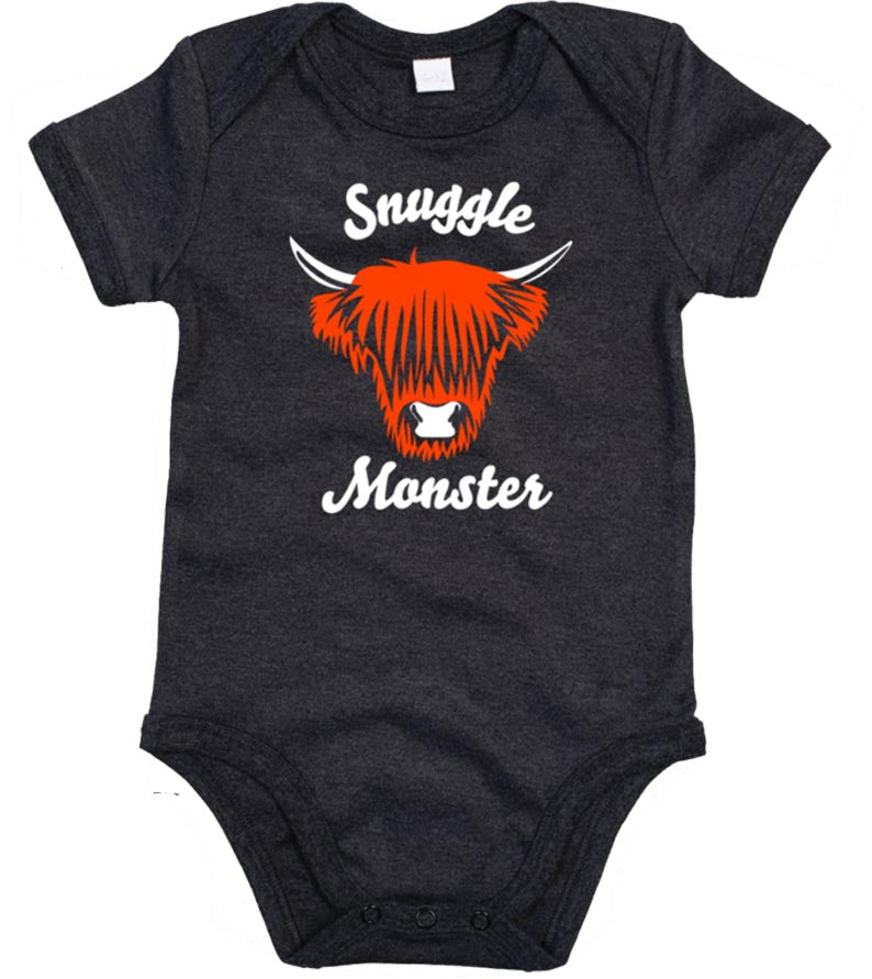 Snuggle Monster Organic Babygrow