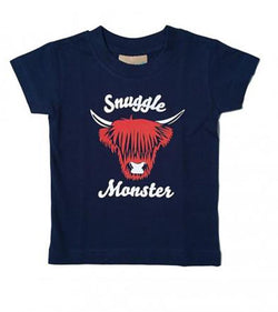Kids Snuggle Monster T-Shirt
