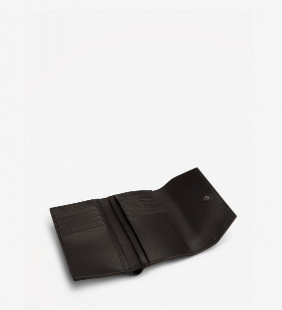 VERA-SMALL VINTAGE WALLET BLACK