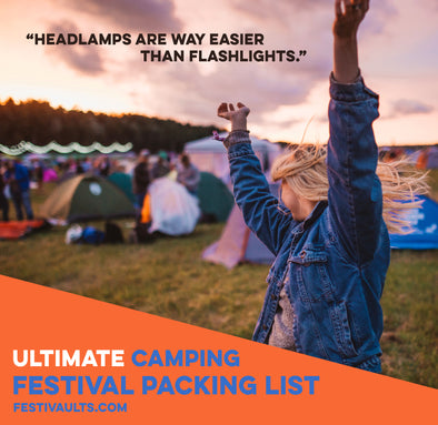 Camping Festival Hacks and Packing List