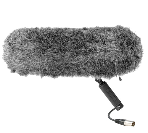 ZEPPELIN for shotgun microphones with fur