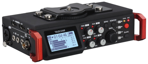 Tascam digital recorder DR-701D with TIMECODE Front