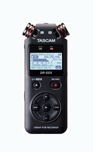 Load image into Gallery viewer, Tascam handheld digital recorder and USB Audio Interface DR-05X