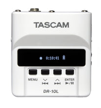 Load image into Gallery viewer, Tascam miniature digital recorder DR-10L White