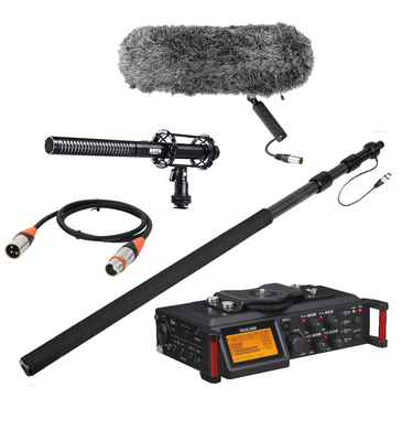 Budget film sound recording equipment starter kit