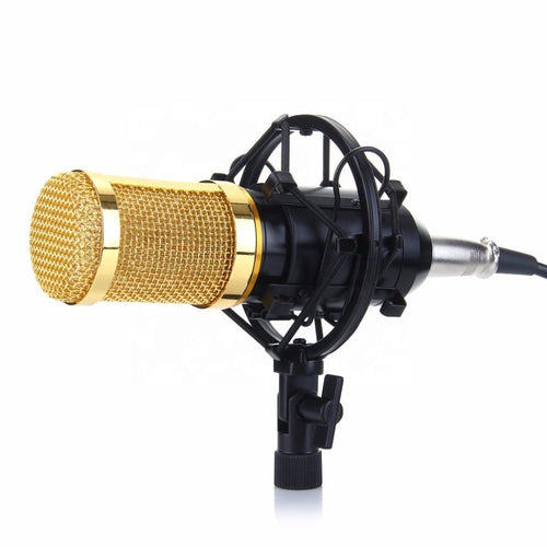 Hi quality Podcast Condenser microphone for webcasters, youtubers or studio vocals