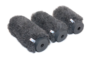 Reinhardt microphone windnoise protection. - The Reinhardt Fur Whispers. The easy way to protect against microphone wind noise