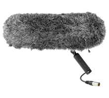 Load image into Gallery viewer, Film Sound recording equipment. The zeppelin with fur.