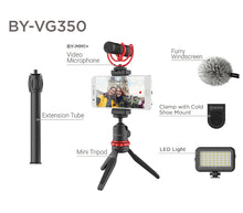 Load image into Gallery viewer, Boya BY-VG350 Ultimate smartphone video kit