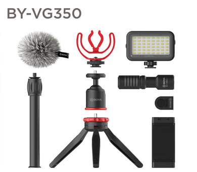 Boya BY-VG350 Ultimate smartphone video kit overview