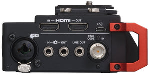 Tascam digital recorder DR-701D with TIMECODE side