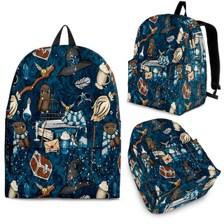 Harry Potter Pattern Backpack