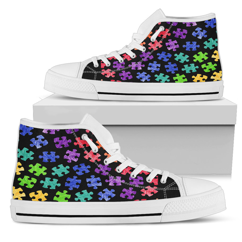 Autism High Top Shoe