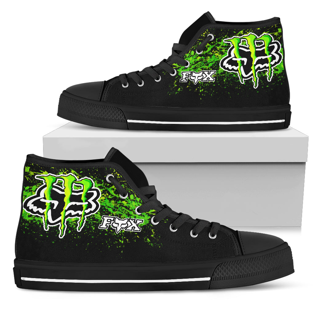 Monster Fox High Top Shoes