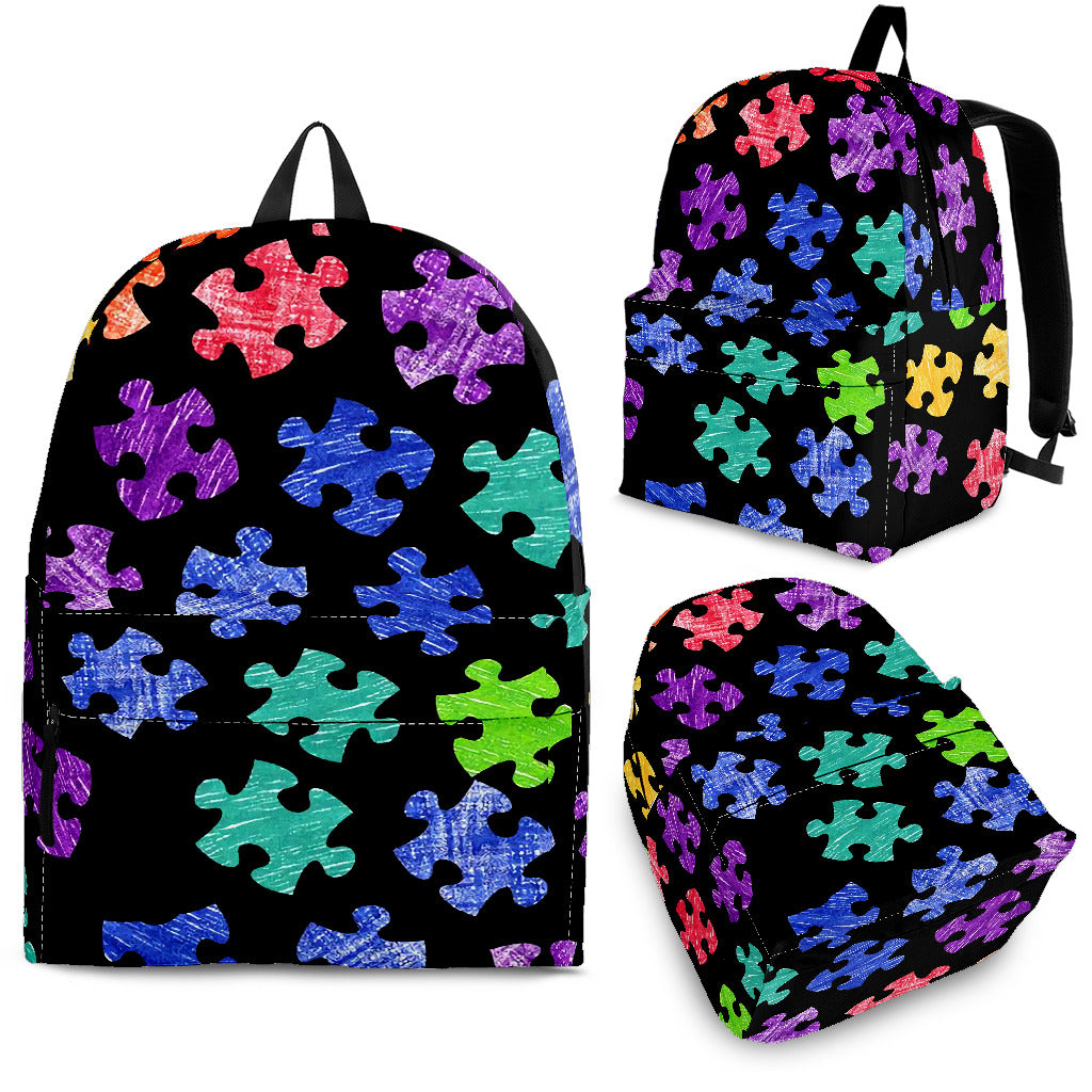 Autism Puzzle Backpack
