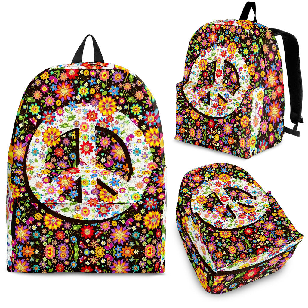 Balo Hippie Backpack Flowers