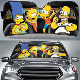 The Simpsons Limited Edition Auto Sun Shades