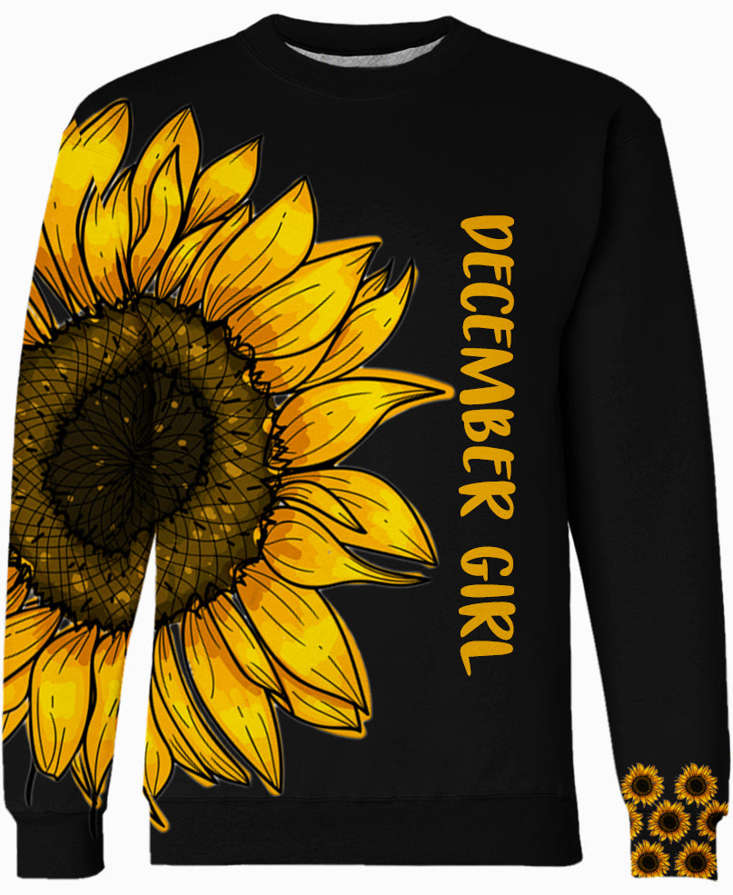 Be A Sunflower - December Hippie Girl Hoodie Collection