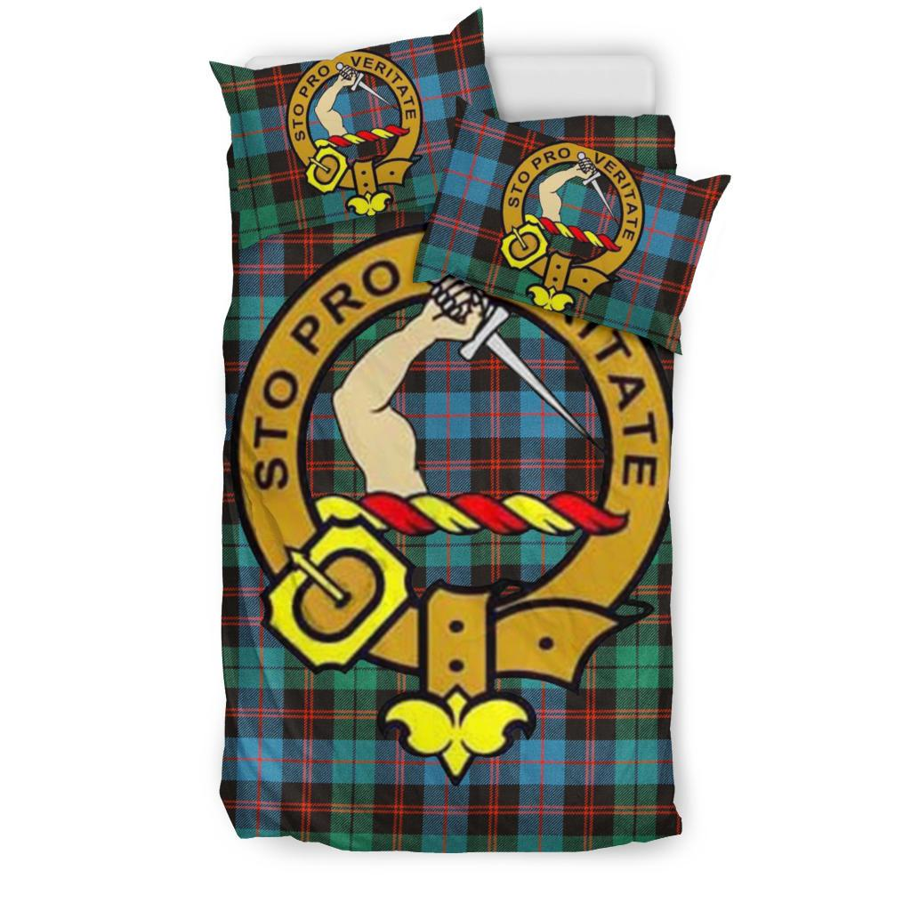 Guthrie Ancient Clan Badge Tartan Bedding Set