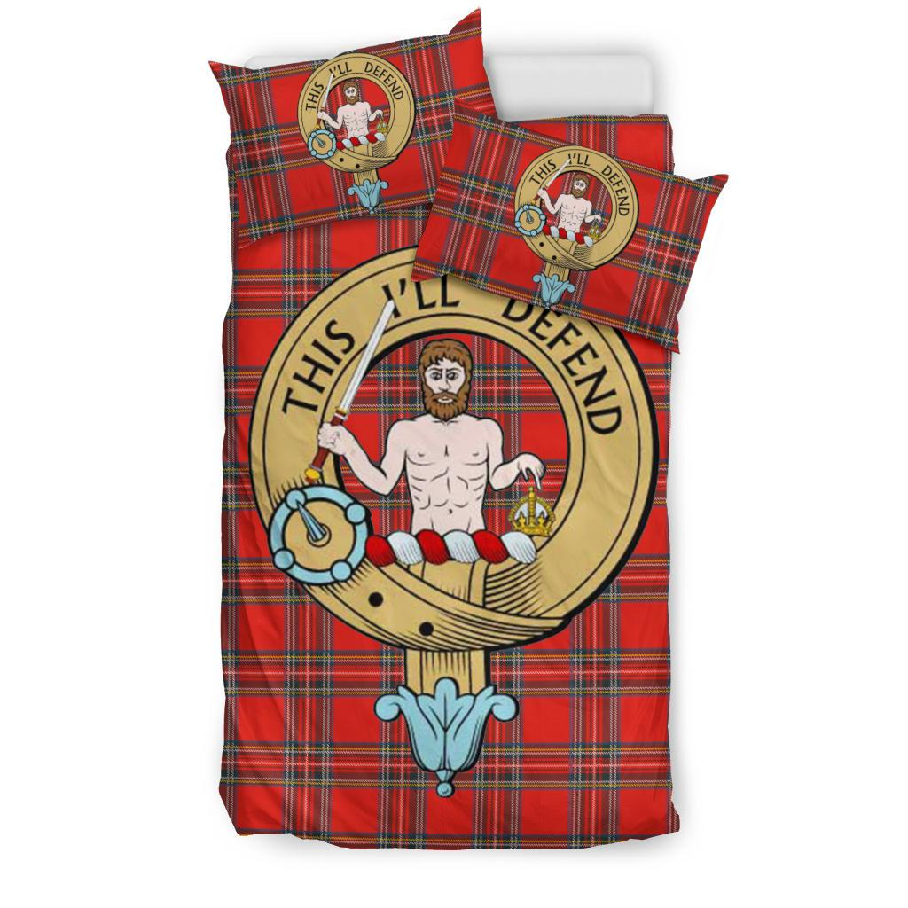 Macfarlane Modern Clan Badge Tartan Bedding Set