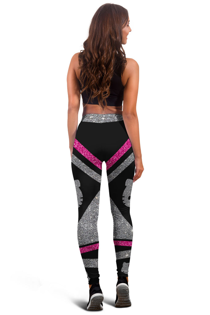 Glitter Pink Hello Kitty Premium Leggings