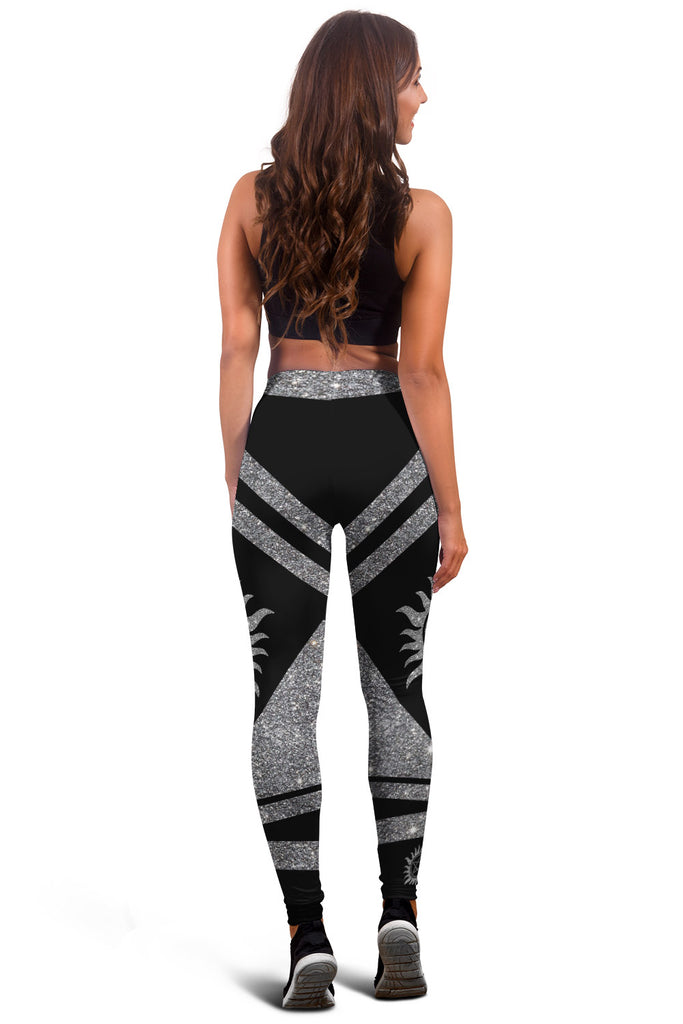 Glitter Supernatural Pattern Premium Leggings