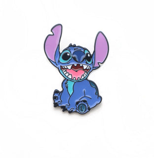 Cute Stitch Enamel Pins and Brooches