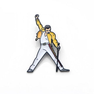 Freddie Mercury Enamel Pins and Brooches