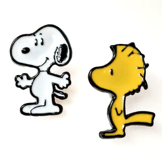 Snoopy & Woodstock Stud Earrings