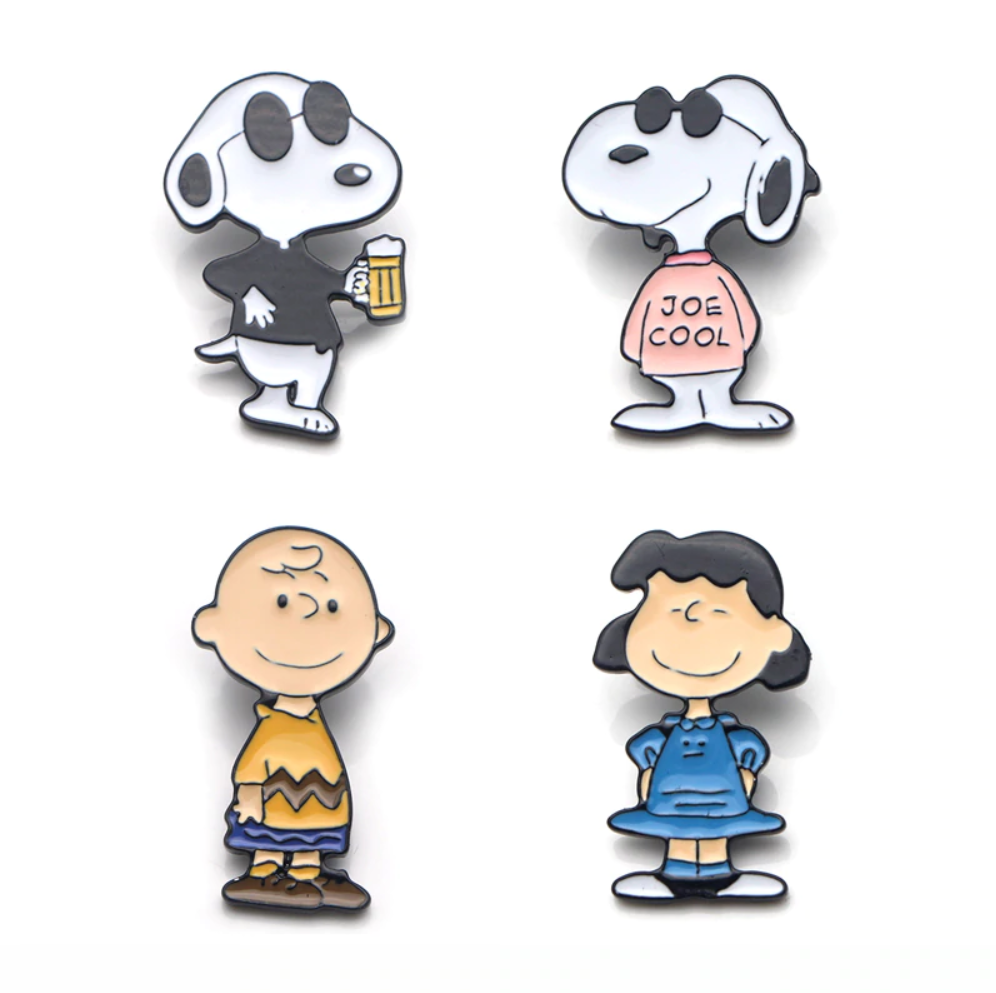 Snoopy Family Enamel Pins and Brooches