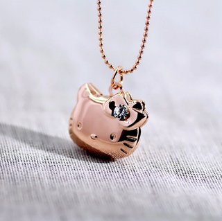 Hello Kitty Locket Charm Necklace