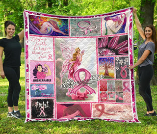 Breast Cancer Awareness Premium Quilt