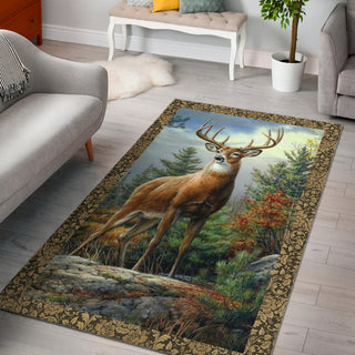 Deer Hunting Premium Carpet