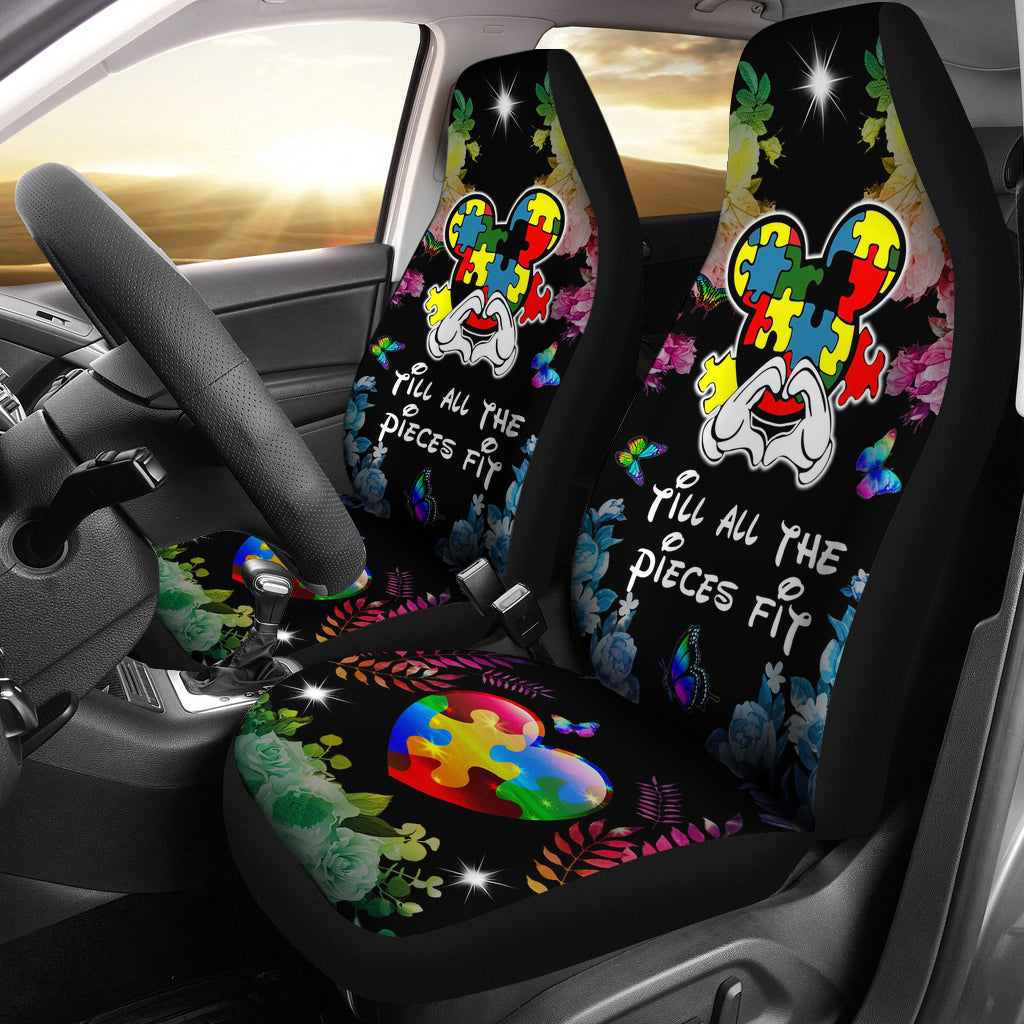 Autism Car Seat Cover (Set of 2)