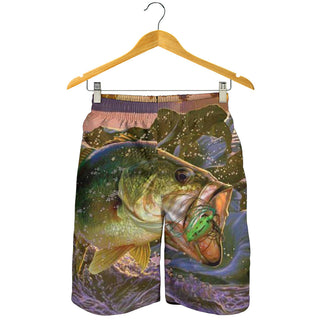 Fish Reaper All Over Print Men's Short